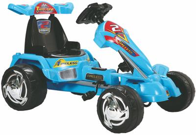 Kart cu pedale 9799 Albastru