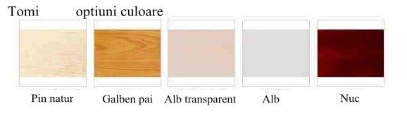 Patut din lemn cu laterala culisanta Tomi XV Color