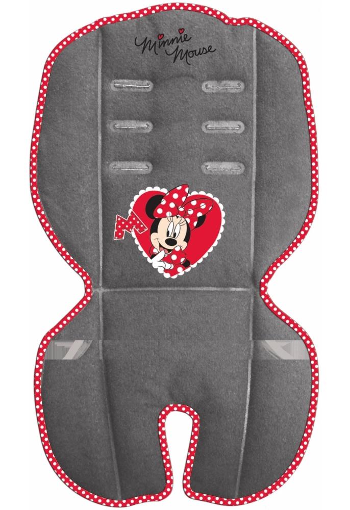 Perna pentru carucior si scaun auto Minnie Disney Eurasia 31402