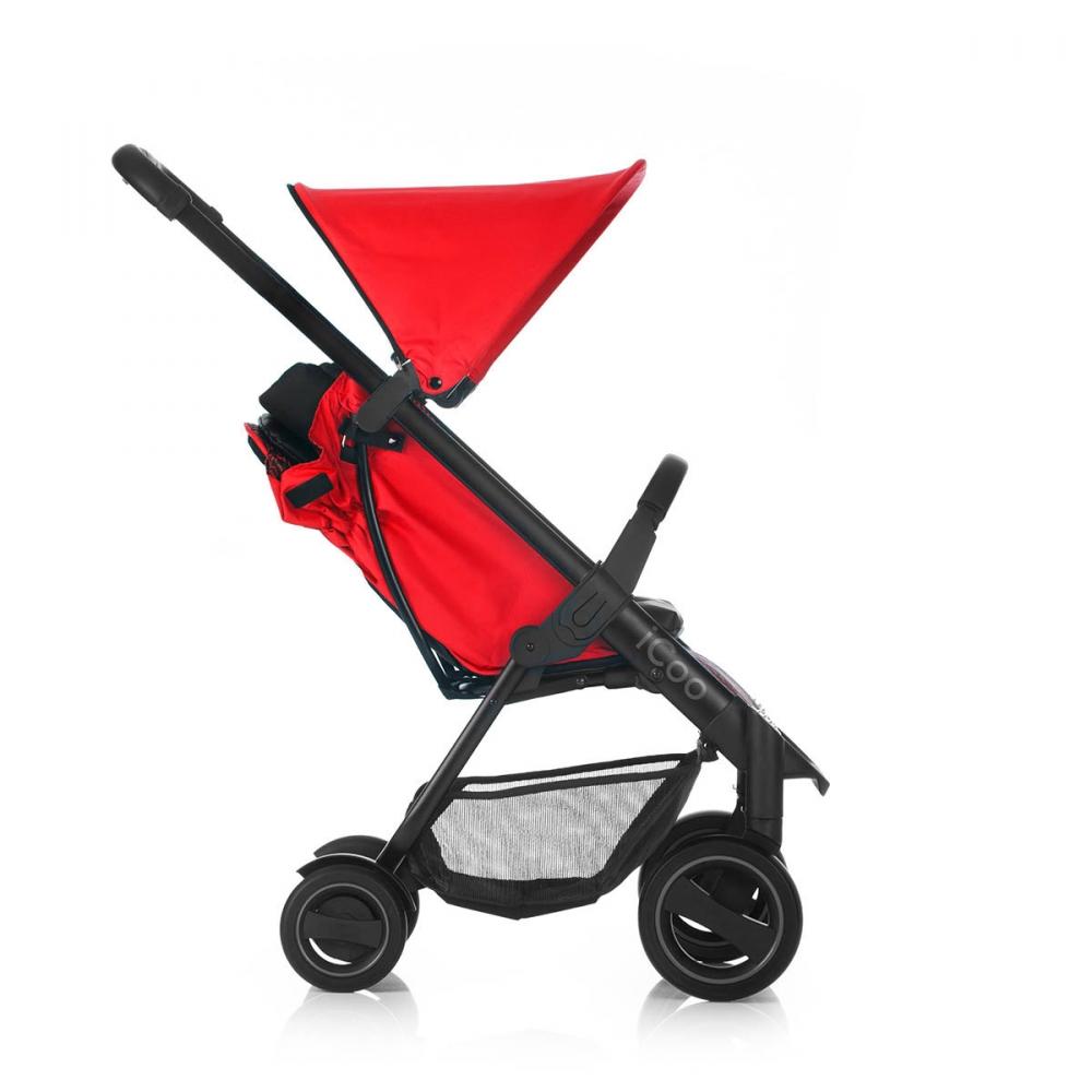 Set Carucior Acrobat Shopn Drive Fishbone Red Icoo - 3