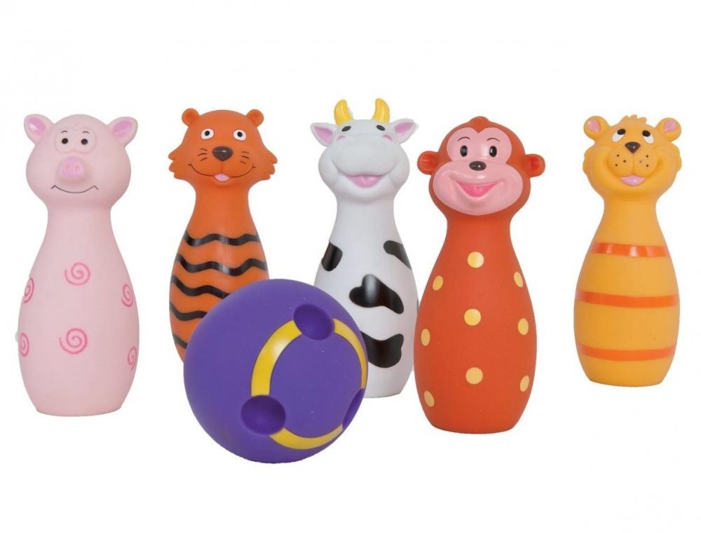 Set de popice Soft  cu animalute Ludi
