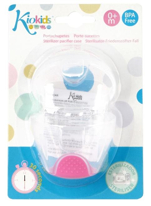 Sterilizator si cutie protectie suzeta, roz