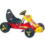 Kart cu pedale 9788A Rosu