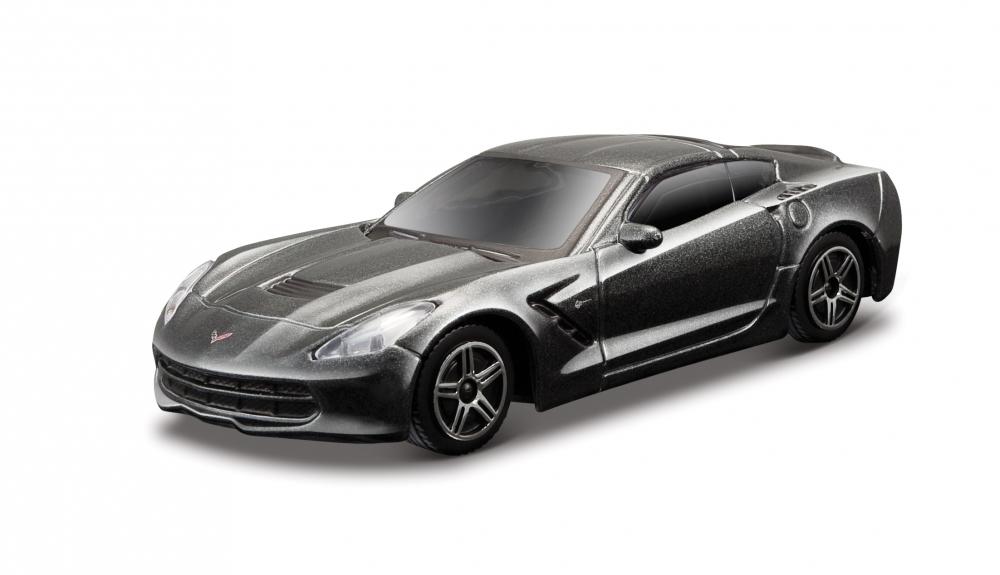 2014 Corvette Stingray – Metallic Grey – Minimodel auto 143 Street Fire