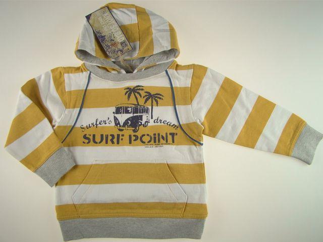Bluza cu gluga SURF POINT (MASURA 116 (5-6 ani))