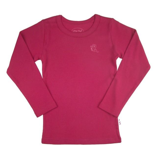 Bluza fete BUTTERFLY  (MASURA 134 (8-9 ani))