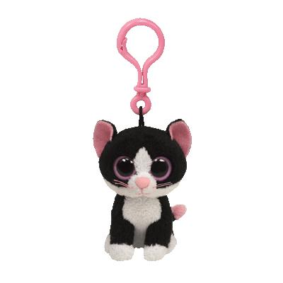 Breloc pisica PEPPER (8.5 cm) - Ty