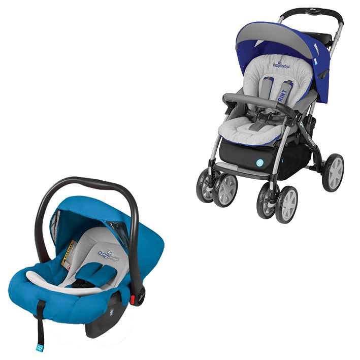 Carucior 2 in 1 Baby Design Sprint Travel System Blue