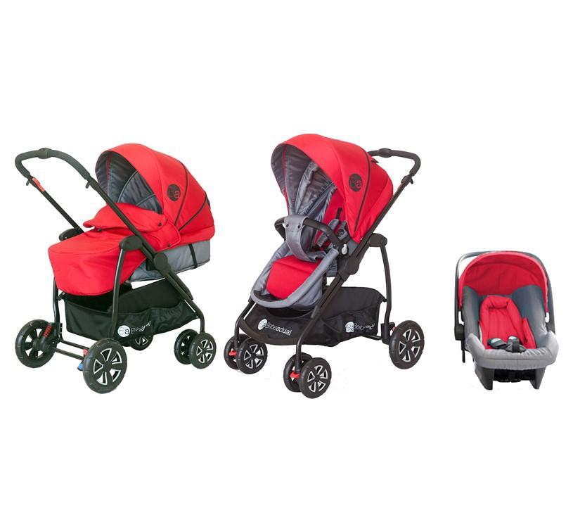 Carucior 3 in 1 Trio Style Rojo