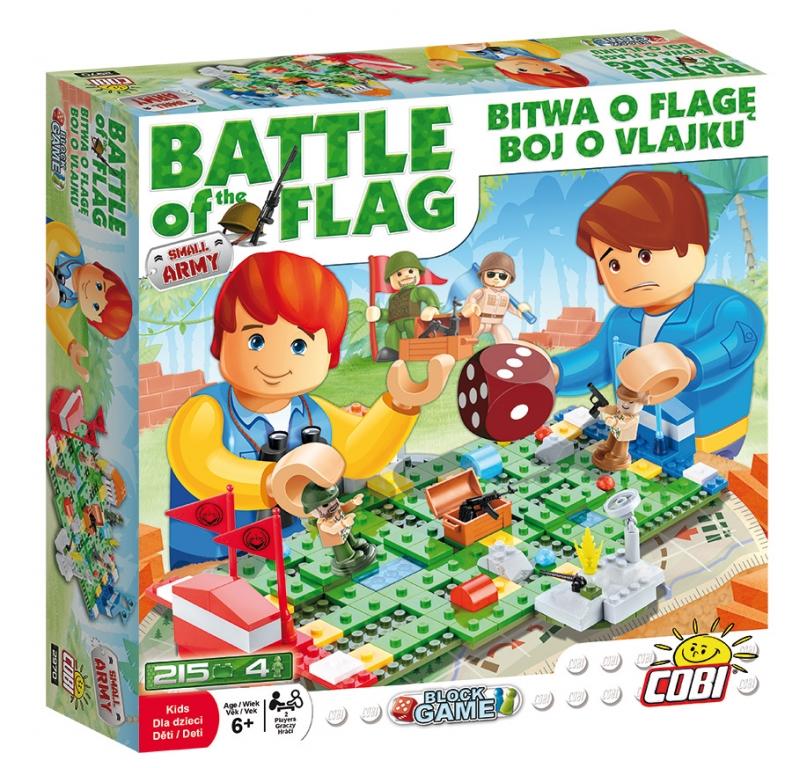 Joc de societate  Batalia Steagurilor (2 jucatori) - Cobi