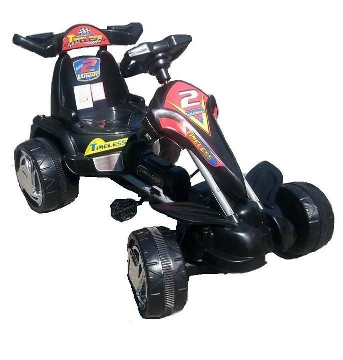 Kart cu pedale 9799 Negru