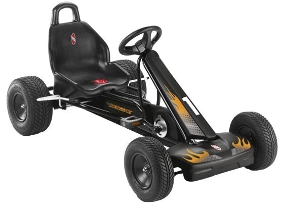 Kart cu pedale F1L Negru