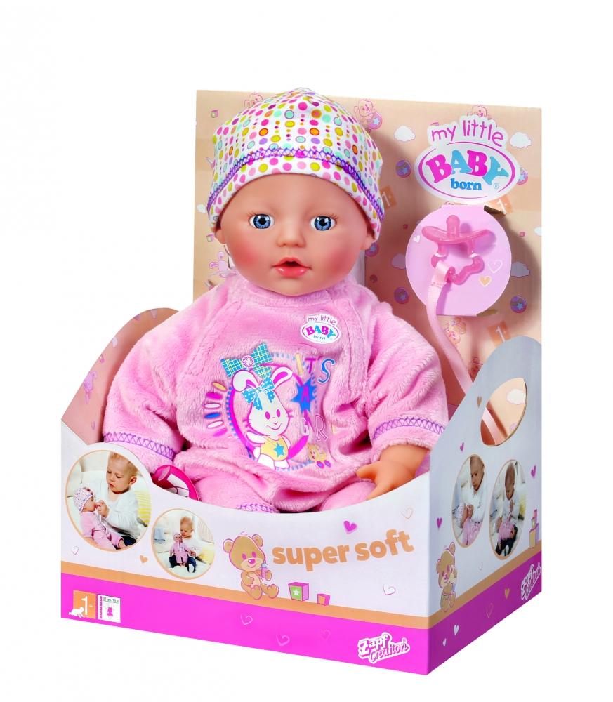 MY LITTLE Baby Born - MICUL PRIETEN PUFOS