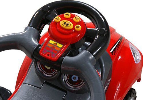 Masinuta 3 in 1 Quick Coupe Rosie