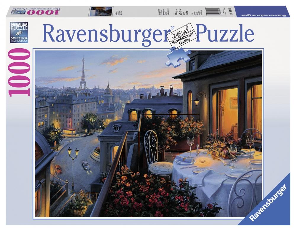 Puzzle Balconul Parisului 1000 Piese