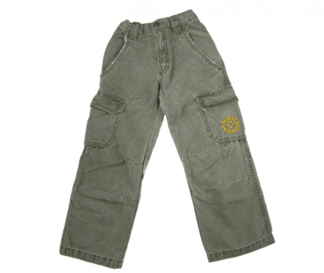 Pantaloni copii Wild America bumbac (Masura 152 (11-12 ani))