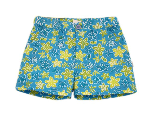 Pantaloni scurti bebe HAWAII (MASURA 98 (2-3 ani))