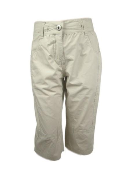Pantaloni trei sferturi fete cu elastic reglabil in talie (MASURA 116 (5-6 ani))