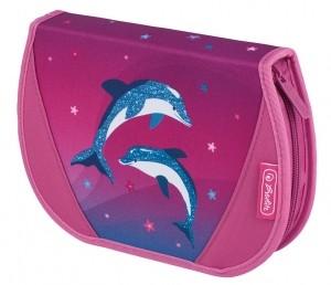 Penar echipat 26 piese motiv Flexi Dolphin Love