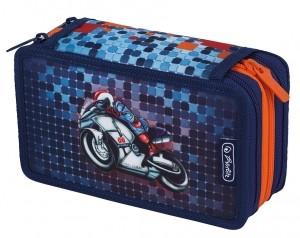 Penar echipat 31 piese 3 compartimente, motiv Smart Motorbike