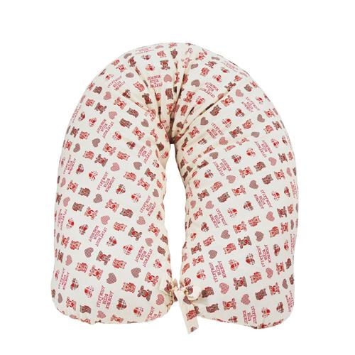 Perna gravida husa bumbac roz 165 cm