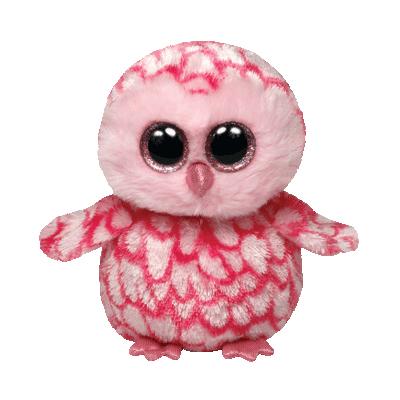 Plus bufnita PINKY (15 cm) - Ty