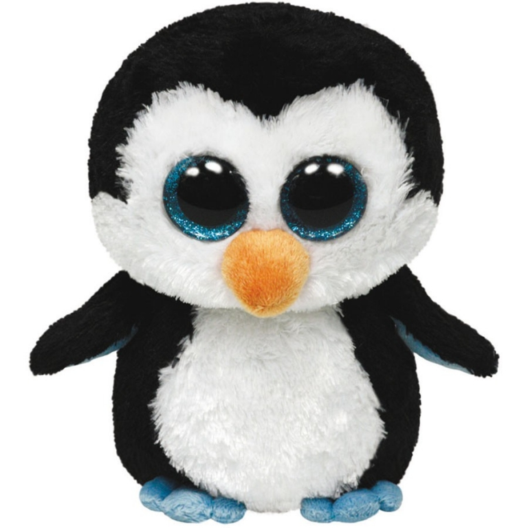 Plus pinguinul Waddles 24 cm Ty