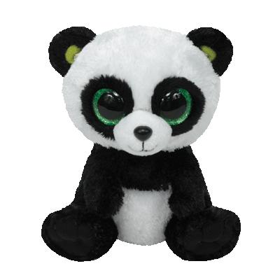 Plus ursuletul panda BAMBOO (15 cm) - Ty