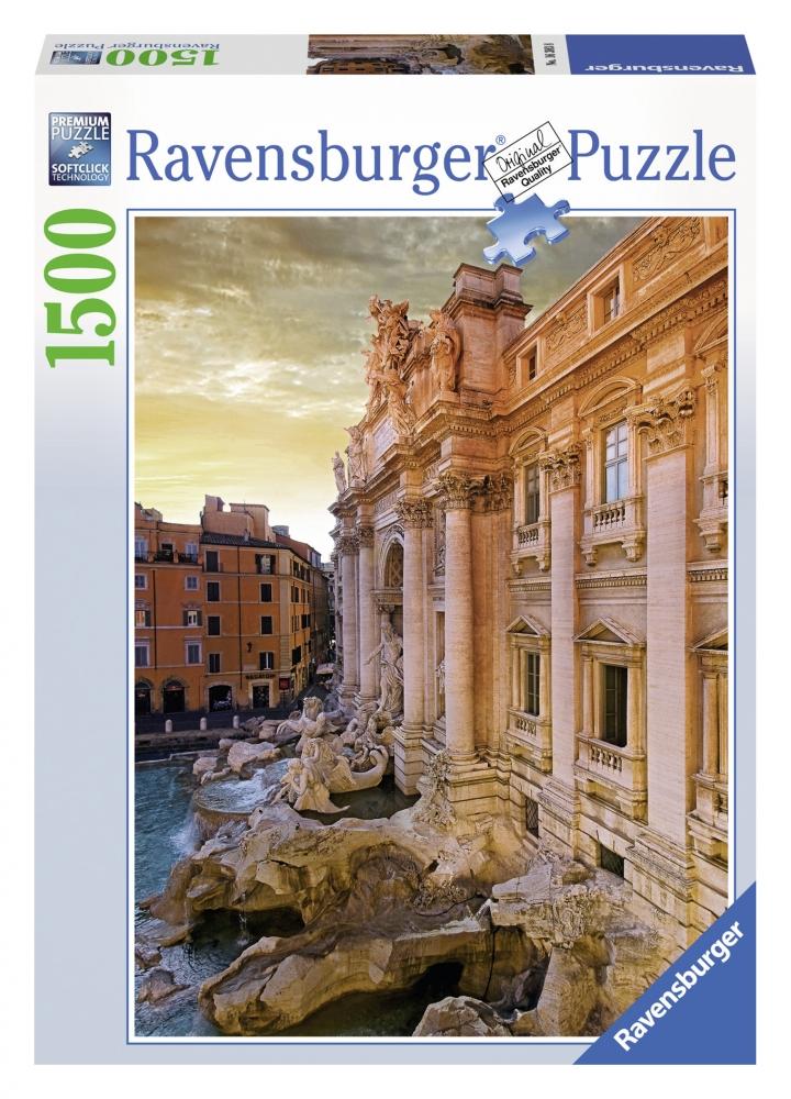 Puzzle Fantana Trevi, Roma 1500 piese