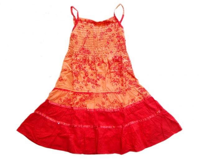 Rochie deosebita vara fete (MASURA 116 (5-6 ani))