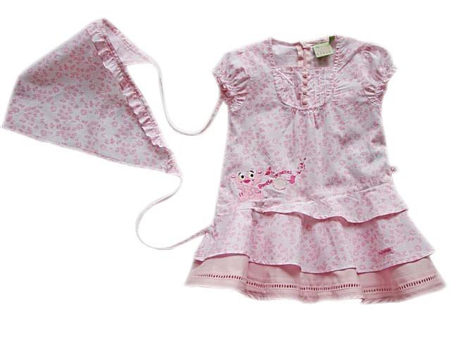 Rochita copii bebelusi PANTERA ROZ (MASURA 74 (9-12 luni))