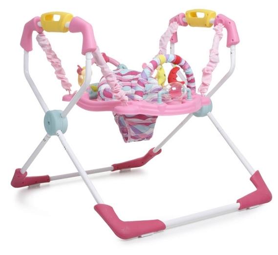 Saritor ajustabil copii jumper Cangaroo XFactor roz