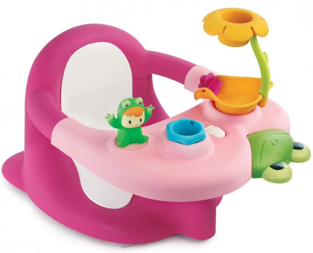 Scaunel de baie cu activitati Smoby roz