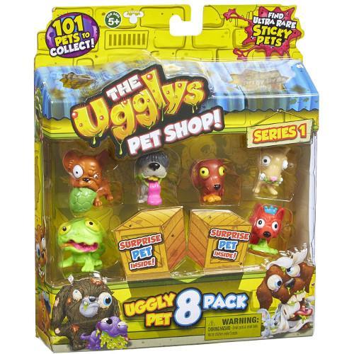 Set 8 Figurine Ugglys