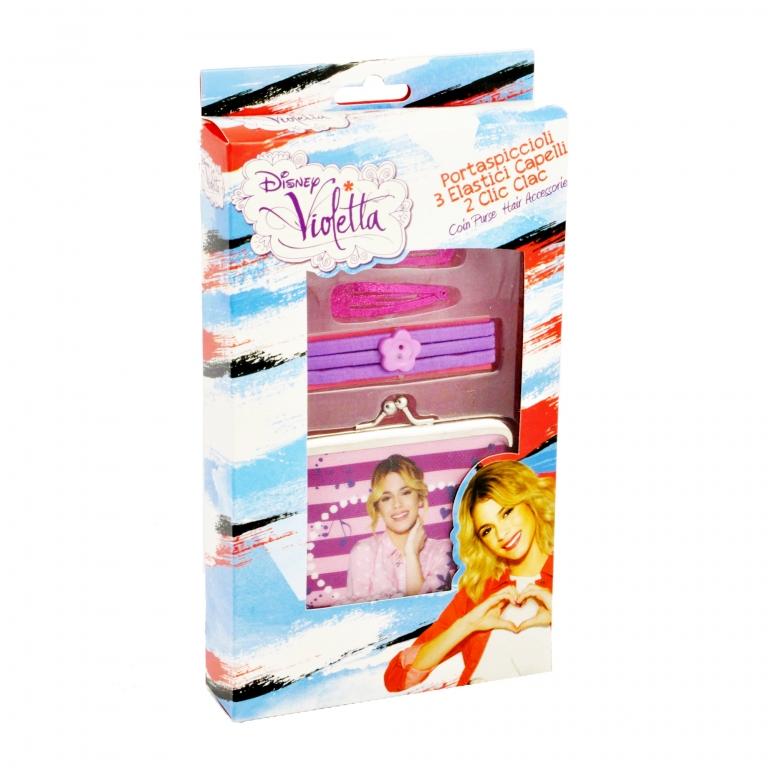 Set cadou portmoneu si accesorii par  Violetta - Coriex