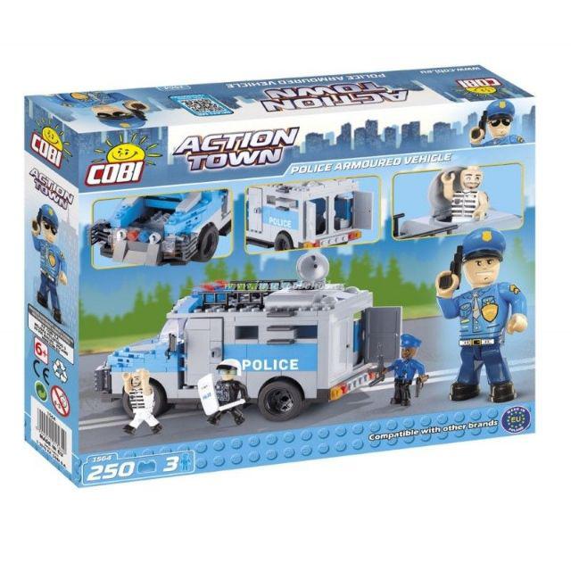 Set de construit vehicul blindat politie - Cobi