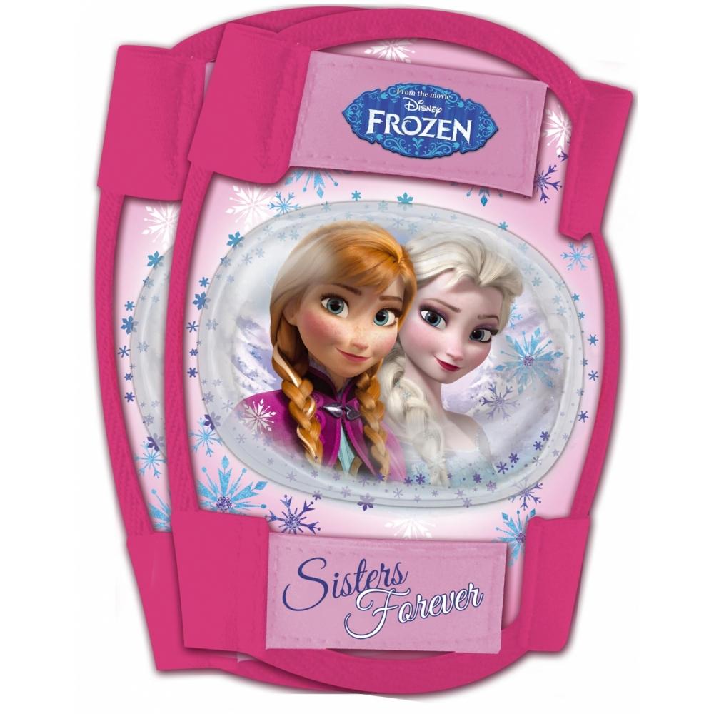 Set protectie Cotiere Genunchiere Frozen Disney Eurasia 35664