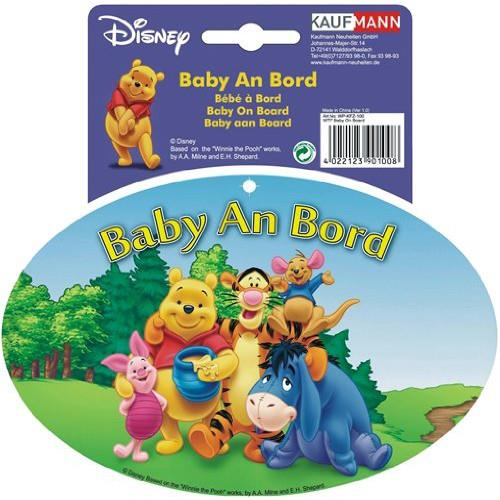 Sticker Bebe La Bord Cu Winnie The Pooh