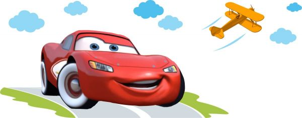 Sticker decorativ Cars