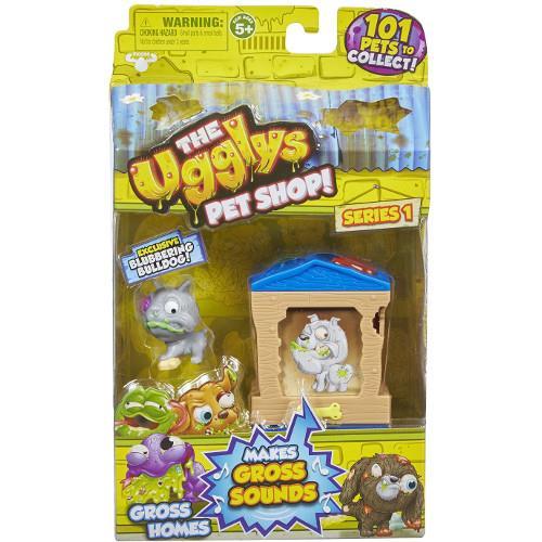 The Ugglys Pet Shop - Casuta cu Bulldog