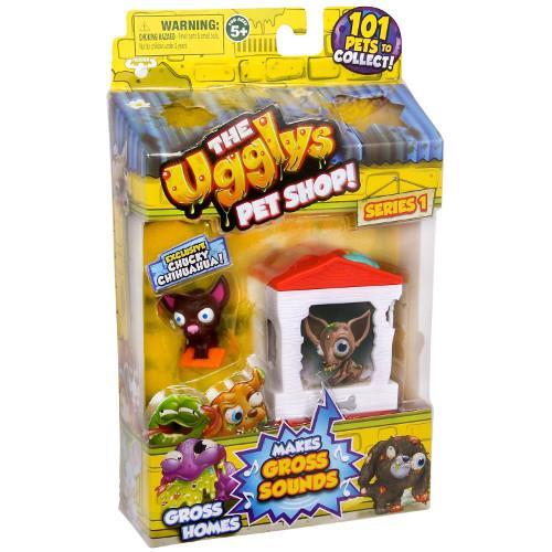 The Ugglys Pet Shop - Casuta cu Chihuahua Chucky