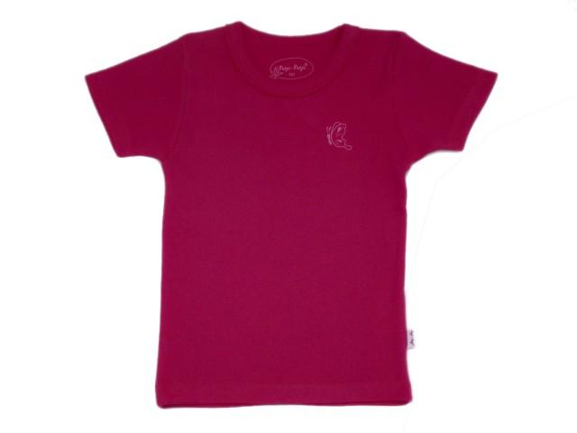 Tricou roz fetite (MASURA 128 (7-8 ani))
