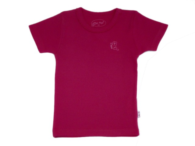 Tricou roz fetite (MASURA 134 (8-9 ani))