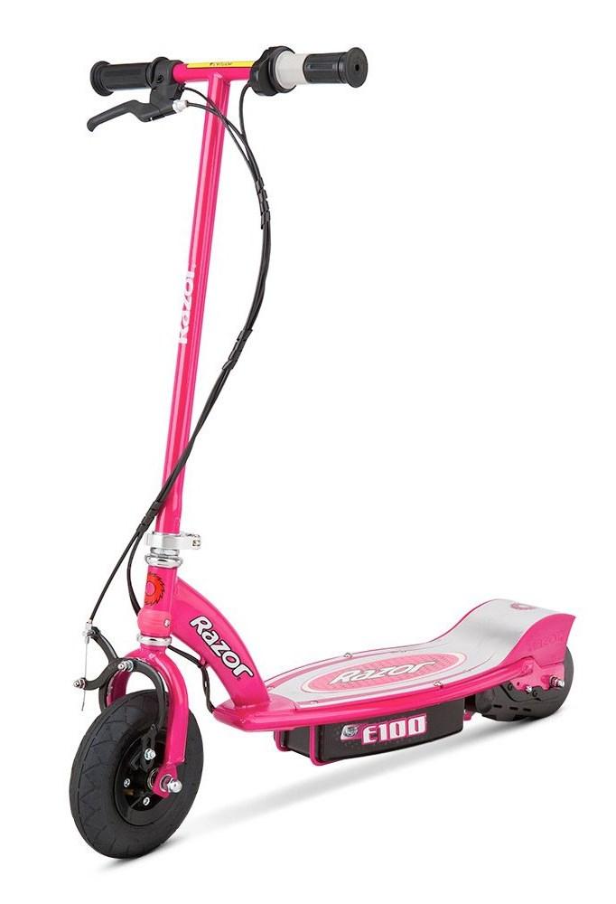 Trotineta electrica Razor E100 Roz din categoria La Plimbare de la RAZOR