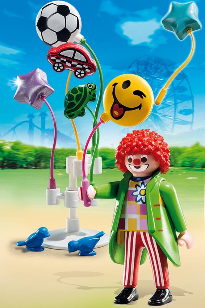 Vanzatorul de baloane din parcul de distractie