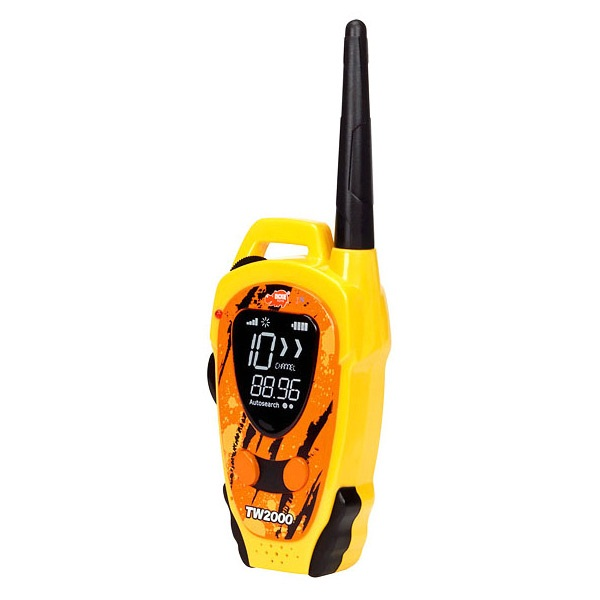 Set Walkie Talkie Outdoor Galben - raza pana la 600 m