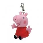 Breloc licenta PEPPA PIG (8.5 cm) - Ty