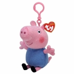 Breloc licenta PEPPA PIG, George (8.5 cm) - Ty