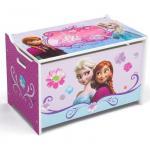 Ladita din lemn pentru depozitare jucarii Disney Frozen