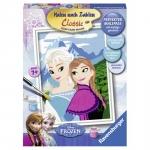 Pictura pe numere  Elsa si  Anna